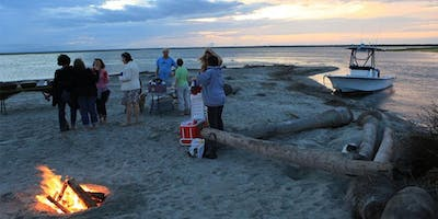 Our Own Traditional Low Country Boil on Barrier Island Beach