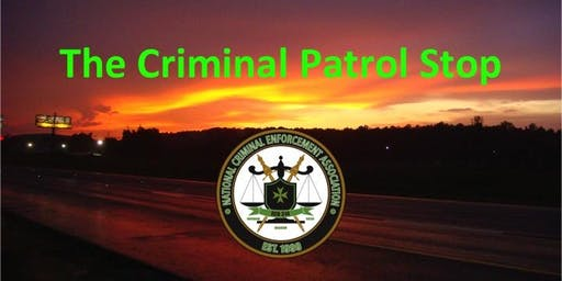 2019 Criminal Patrol Stop - North Charleston, SC