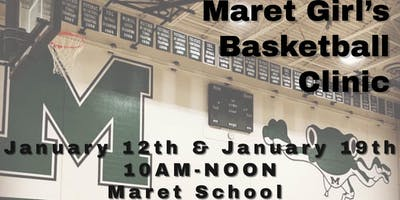 Maret School Basketball Girls Clinic
