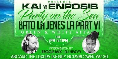 KAI vs. ENPOSIB {GREEN & WHITE CRUISE | PARTY ON THE SEA #6} 2019