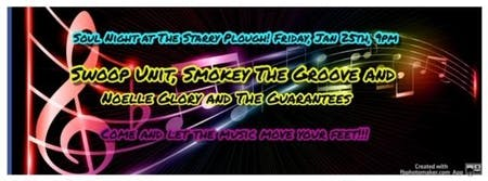 Swoop Unit with Smokey The Groove and Noelle Glory and The Guarantees @ The Starry Plough Pub