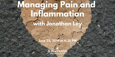 Managing Pain and Inflammation tickets