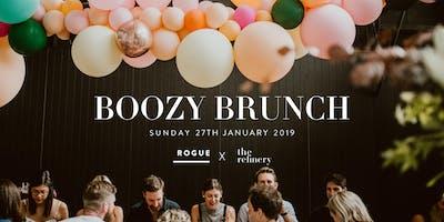 Boozy Brunch by Rogue Bistro