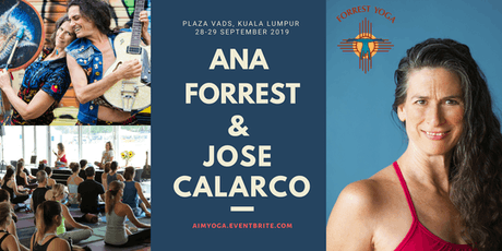 Ana Forrest & Jose Calarco in KUALA LUMPUR (2DAYS WEEKEND WORKSHOP) tickets