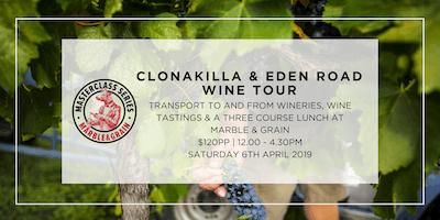 Clonakilla and Eden Road Wine Tour