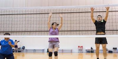 SNV Social Volleyball training 2019 (SOP Quaycentre)