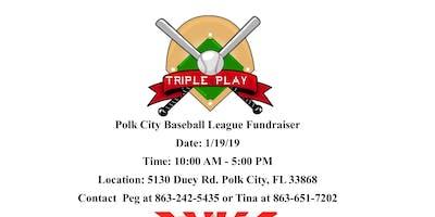 Triple Play Craft Fair Fundraiser