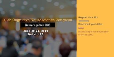 26th Cognitive Neuroscience Congress