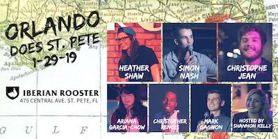 Orlando Does St. Pete Comedy Show