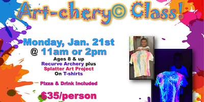School's Out Art-chery Class!