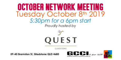 GCCI October Network Meeting tickets