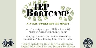 IEP Boot Camp