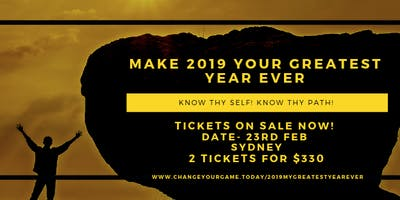 Make 2019 your GREATEST year EVER