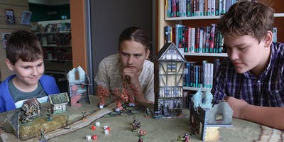 Gaming in Libraries: Kings of War Skirmish