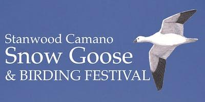 Stanwood Camano Birding Festival Bus Tours 2019 - Snow Geese - Bus B