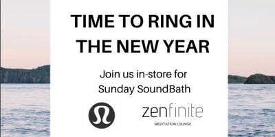Free Sound Relaxation Session at Lululemon Brea Mall - Presented by Zenfinite