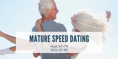 Mature Speed Dating Party | Singles Mixer | ages 45-70 | Hobart