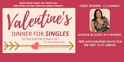 FREE Valentines Dinner (Singles Appreciation Night)