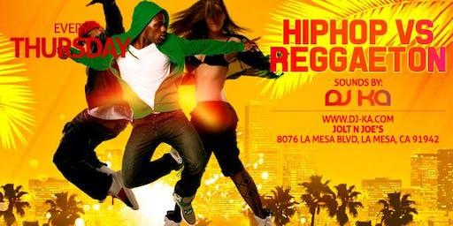 College Night: Hip Hop vs Reggaeton