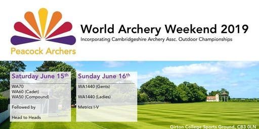 World Archery Weekend 15th & 16th June 2019
