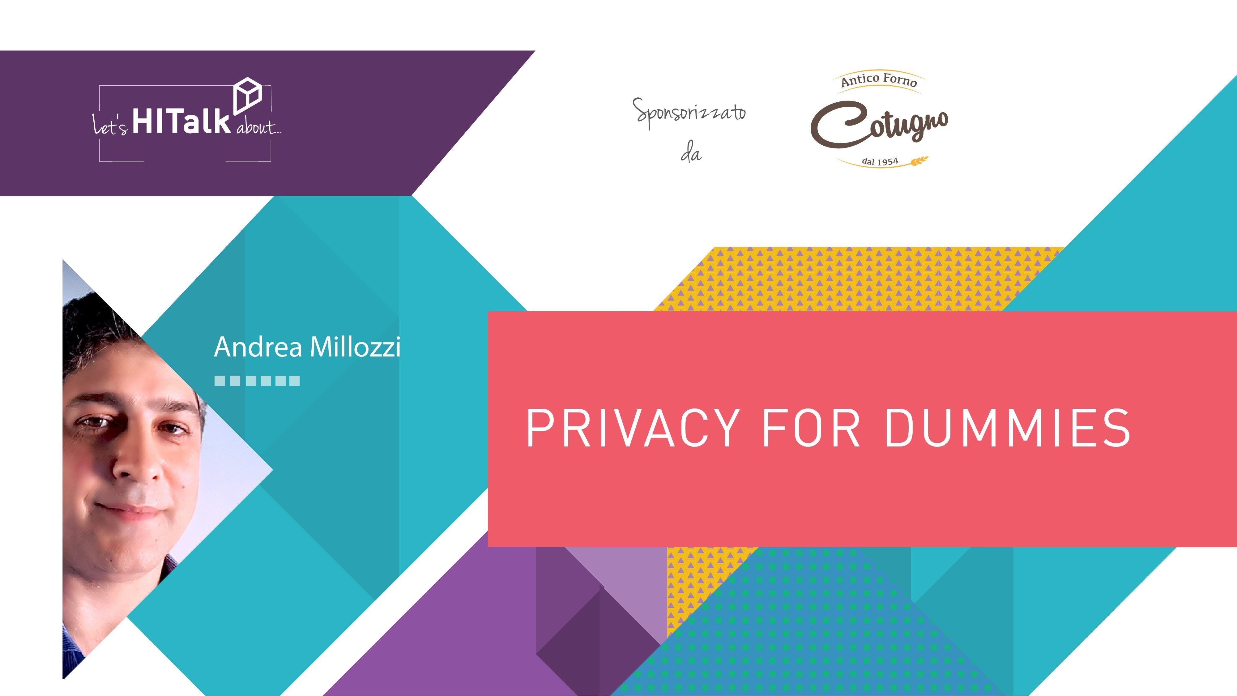 Let's HITalk... Privacy