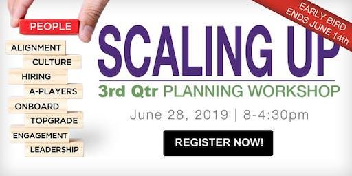 3rd Quarter Scaling Up Planning Workshop: People