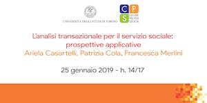 L'analisi transazionale per il servizio sociale:...