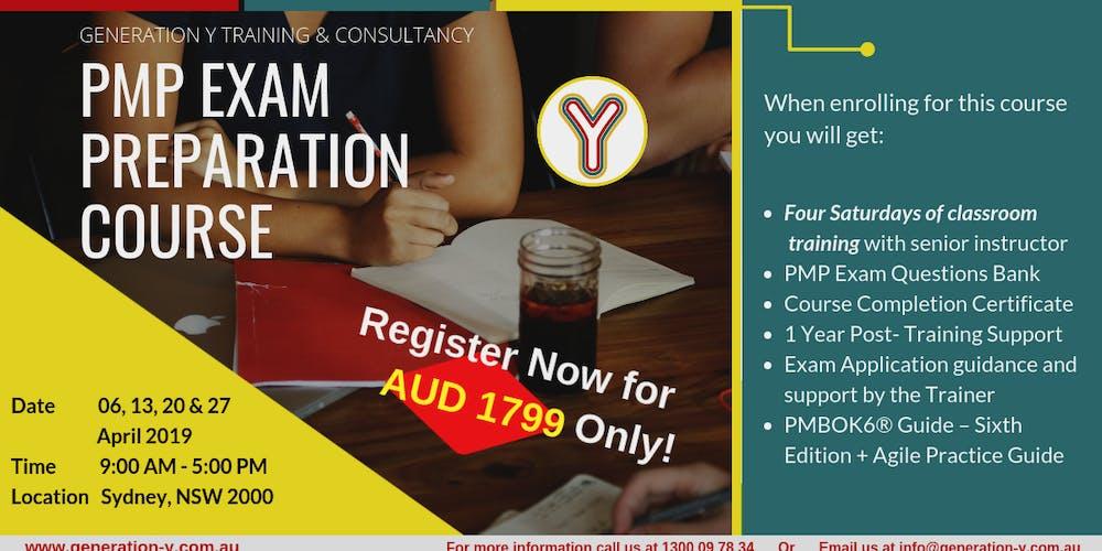 Pmp Exam Preparation Course Classroom Saturdays Batch