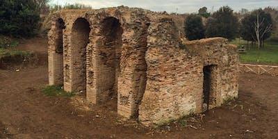 Le strutture idrauliche della Caffarella