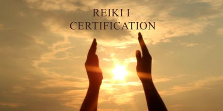 REIKI Level I - Sho-den Certification tickets