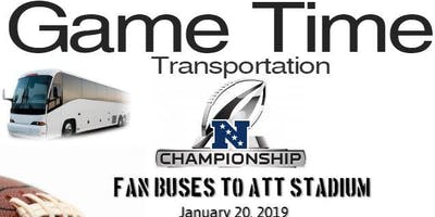 Cowboys vs ??? Transportation/Shuttle - NFC Championship