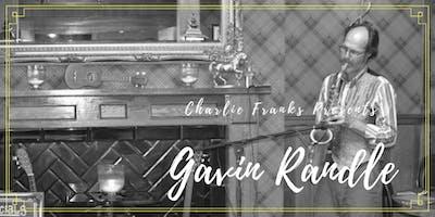 Charlie Franks Presents Gavin Randle on Sax