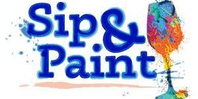 Sip & Paint at Game Day Events