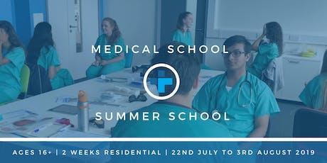 Medical School Summer School tickets