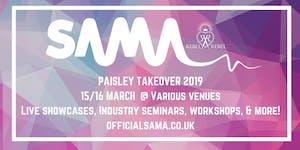 SAMAs Paisley Takeover 2019 - Various Venues