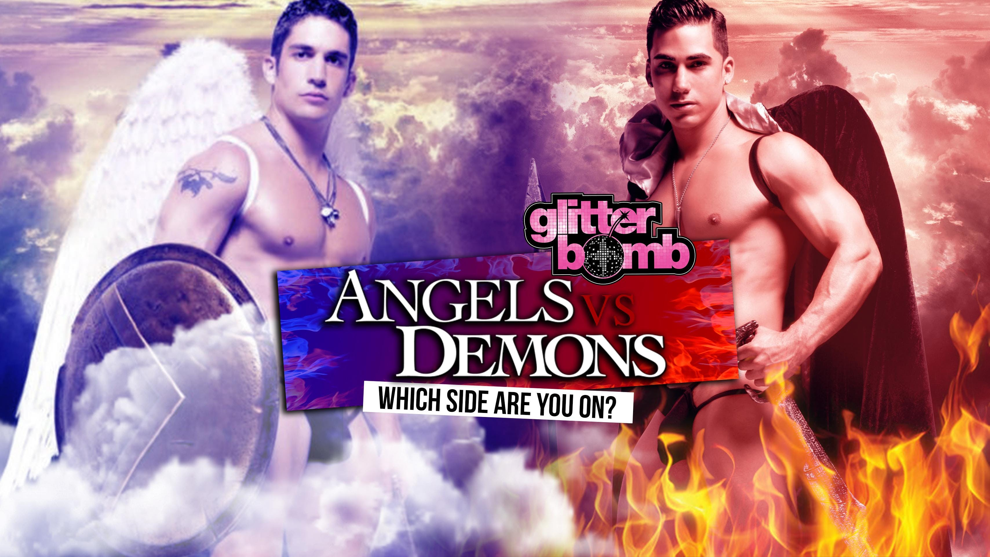 Angel vs. Demons / Glitterbomb Canterbury