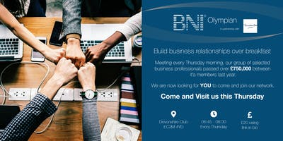 BNI Olympian - Business breakfast meeting