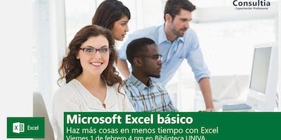 Microsoft Excel básico