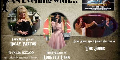 An Evening With Tribute to Dolly Parton, Loretta Lynn and the Judds
