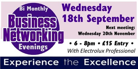 Bi-Monthly Business Networking Evening tickets