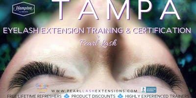 Eyelash Extension Training Hosted by Pearl Lash Tampa, FL January 18-21, 2019
