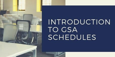 Introduction to GSA Schedules tickets