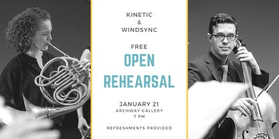 KINETIC and Windsync Open Rehearsal Concert Preview