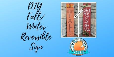 DIY Fall/Winter Reversible Decor tickets