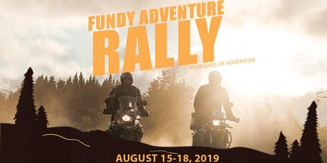 2019 Fundy Adventure Rally 2 tickets