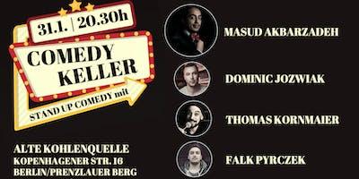 Comedy Keller | Stand Up Comedy Show | Headliner: Masud Akbarzadeh