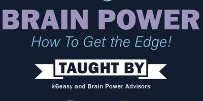 Brain Power - How to Get the Edge!