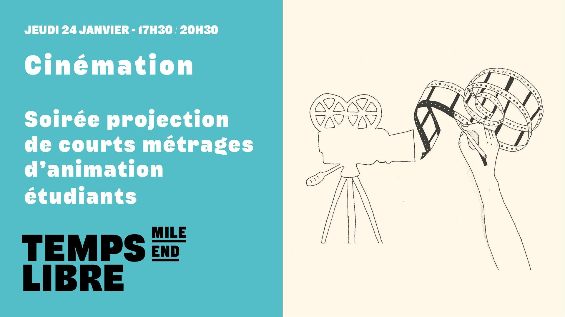 TL Cinémation : projection de films d'animati