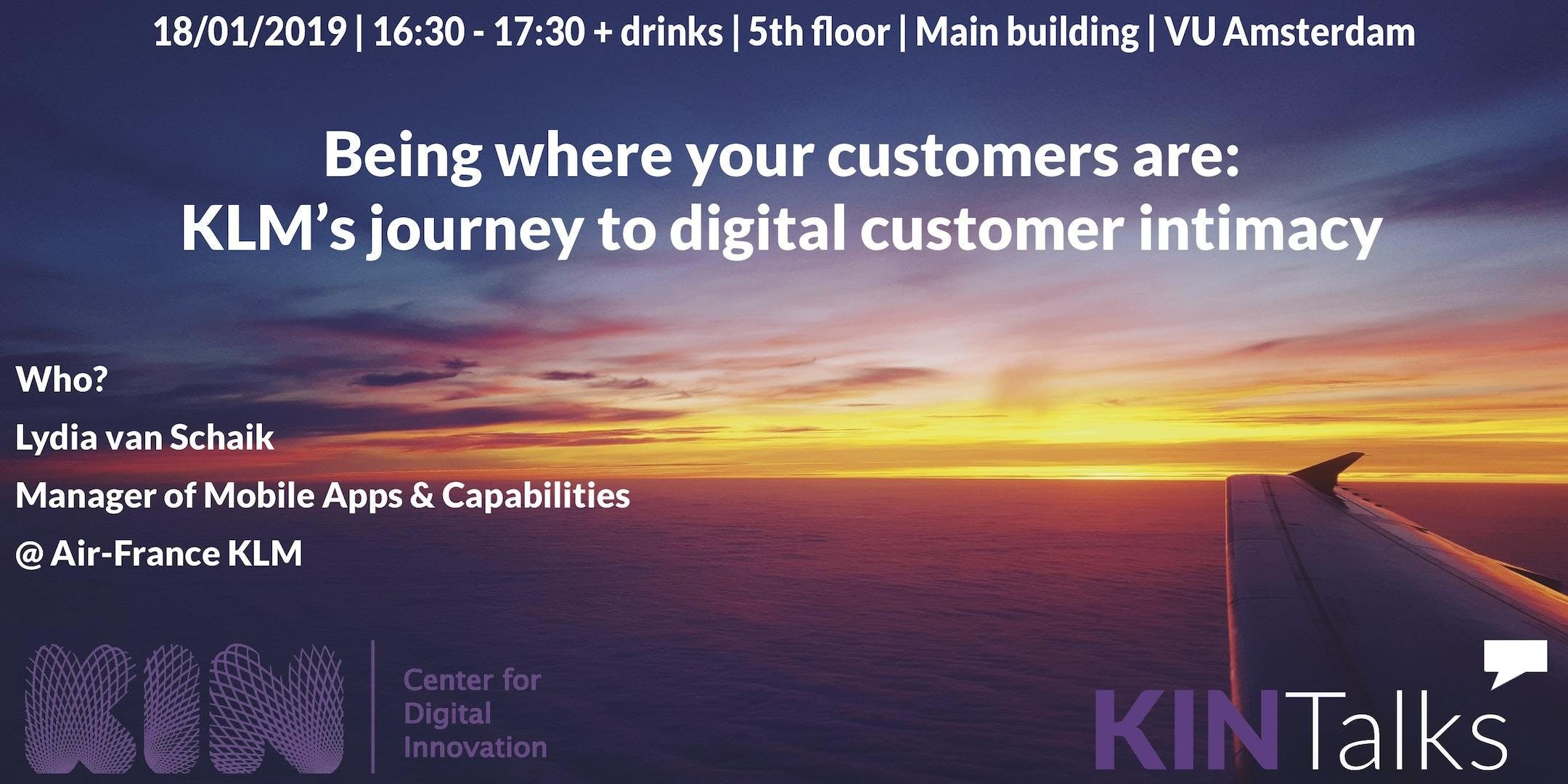 KINTalks: Being where your customers are: KLM