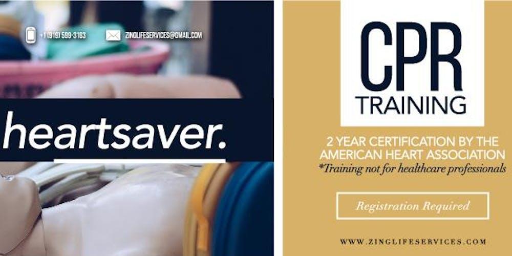 Heartsaver Cpr Tickets Mon Feb 4 2019 At 600 Pm Eventbrite